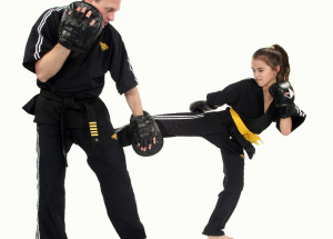 Black Belt kid